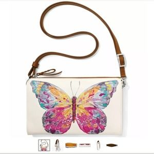 Brighton Bags - Brighton Suncatcher Butterfly Embroidered Pouch